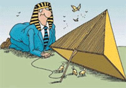 Опасность пирамидальных схем